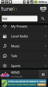 Aplicatie pentru ascultat radio pe android