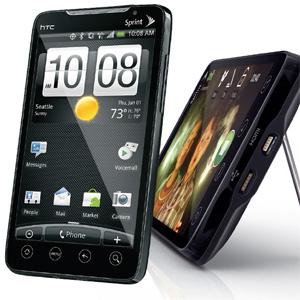 HTC Evo 4G cu procesor Snapdragon