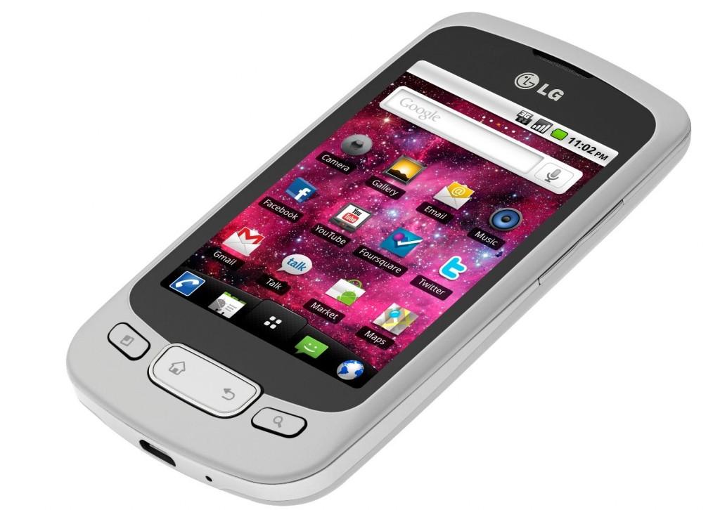 Telefonul mobil LG OPTIMUS ONE cu Google Froyo