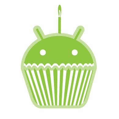 Macheta Android 1.5 Cupcake din 2009