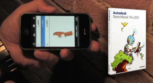 Autodesk SketchBook Pro pentru Android