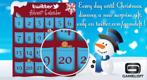 Surpriză Gingerbread în AdventCalendar de la Gameloft