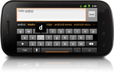 Telefonul Google Nexus S cu Gingerbread Android 2.3