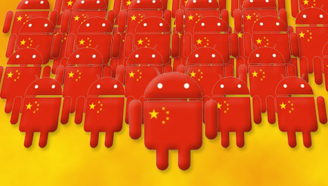 Android rosu China