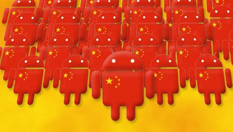 Android rosu China