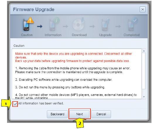 Samsung Fascinate firmware