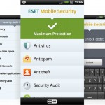 Antivirus Eset Mobile Security Android