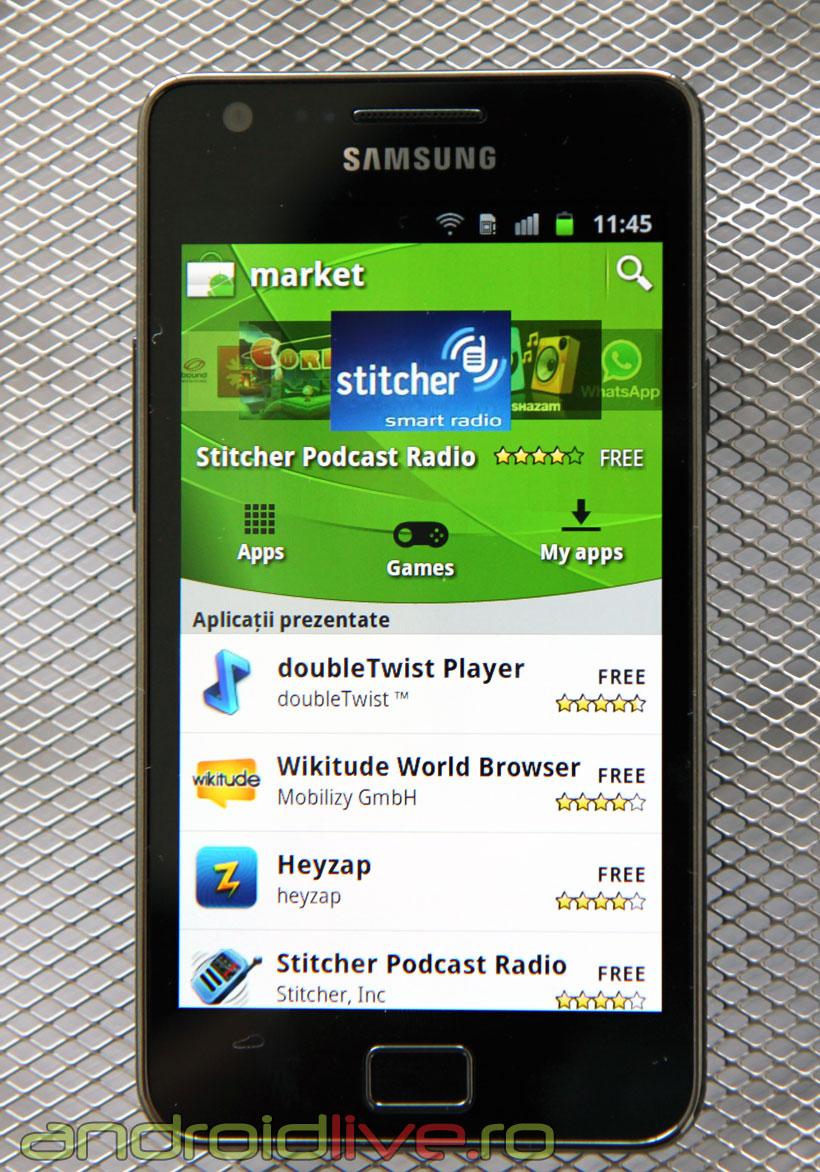Samsung Galaxy S II - Android Market 2