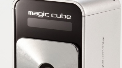 Magic-Cube Projection Keyboard