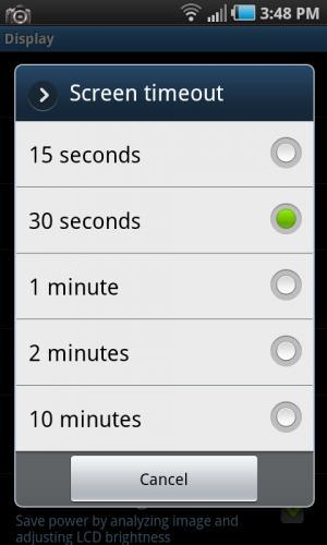 Ecran Android