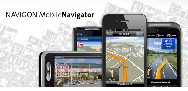 Software NAVIGON pentru telefoanele Android