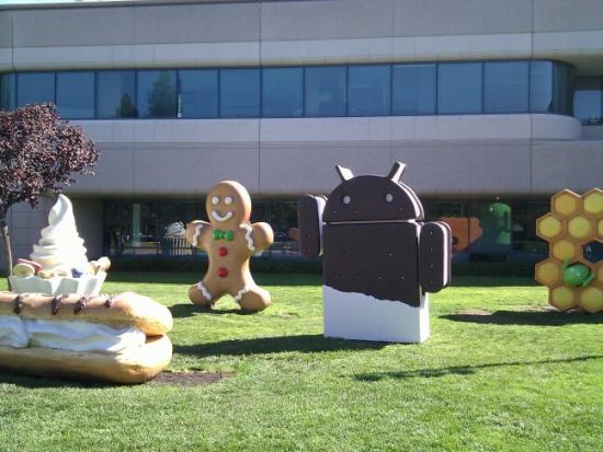 Statuie Android Ice Cream Sandwich