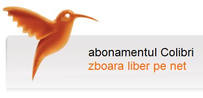 internet mobil abonamentul Colibri Orange Romania