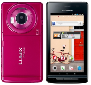 Panasonic Lumix P-02D Android