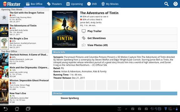 Flixter's Movie App