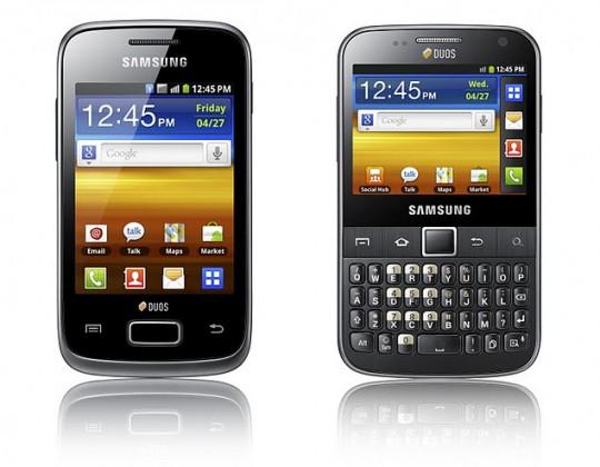 Galaxy Y Duos & Galaxy Y Pro Duos