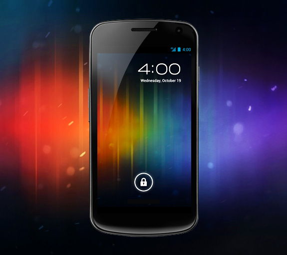 Galaxy Nexus slide to unlock