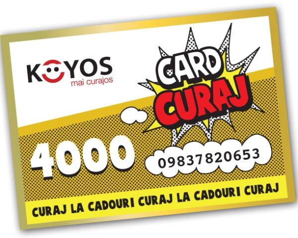 Card Curaj Koyos