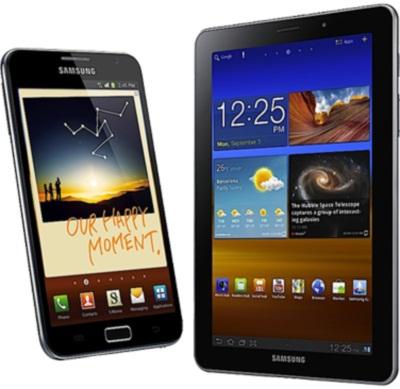 Samsung Galaxy Note & Galaxy Tab 7.7
