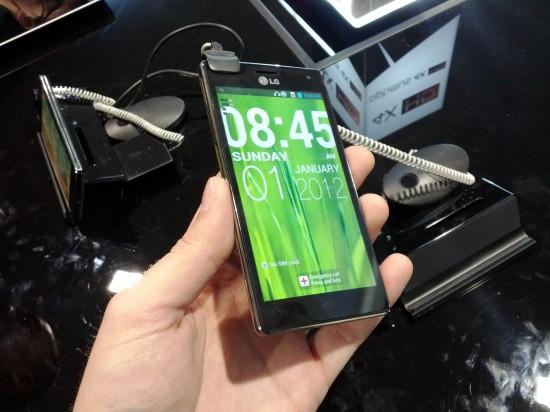 LG Optimus 4X MWC 2012