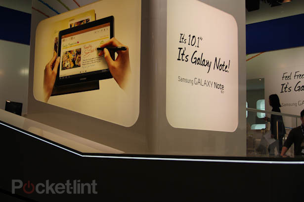 Samsung Galaxy Note 10.1 MWC 2012