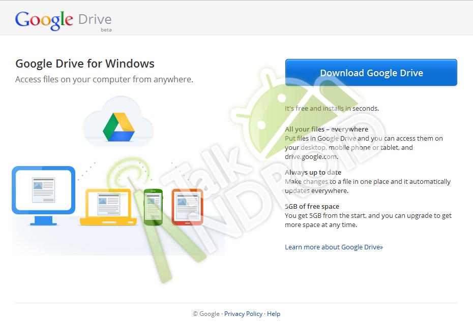 GDrive Screenshot