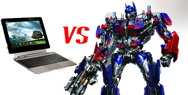 Transformer Prime vs Oprimus Prime
