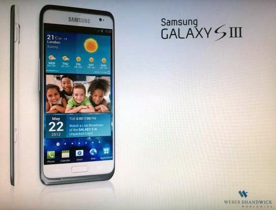 Posibilul Samsung Galaxy S3