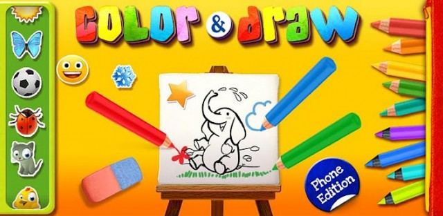 Color & Draw for kids phone ed