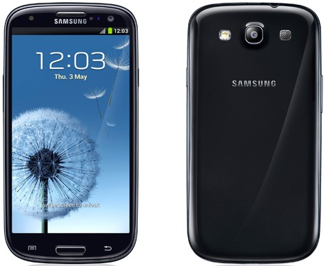 Samsung Galaxy SIII Sapphire Black