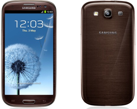 Samsung GALAXY SIII Amber Brown
