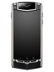 cel mai scump telefon Vertu Ti Black Leather
