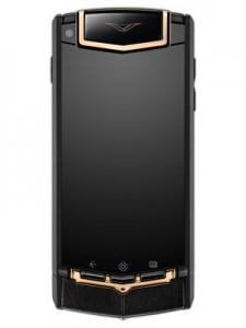 cel mai scump telefon Vertu Ti Black PVD Red Gold