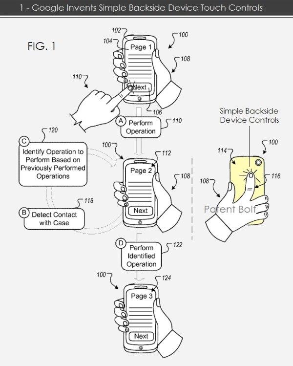 Google patentează un nou tip de control