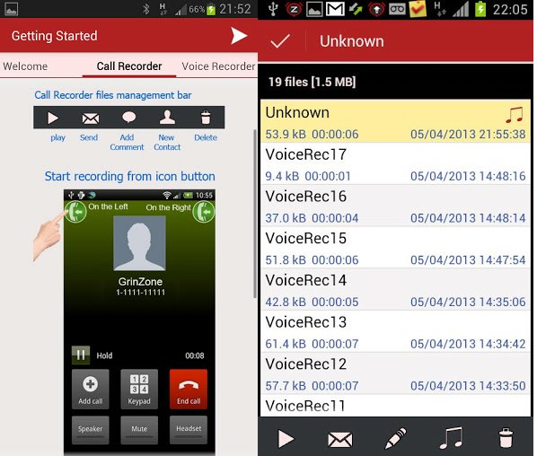 MP3 InCall Recorder & Voice