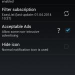 Adblock Plus pentru Android