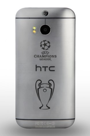 HTC One M8 UEFA Trophy