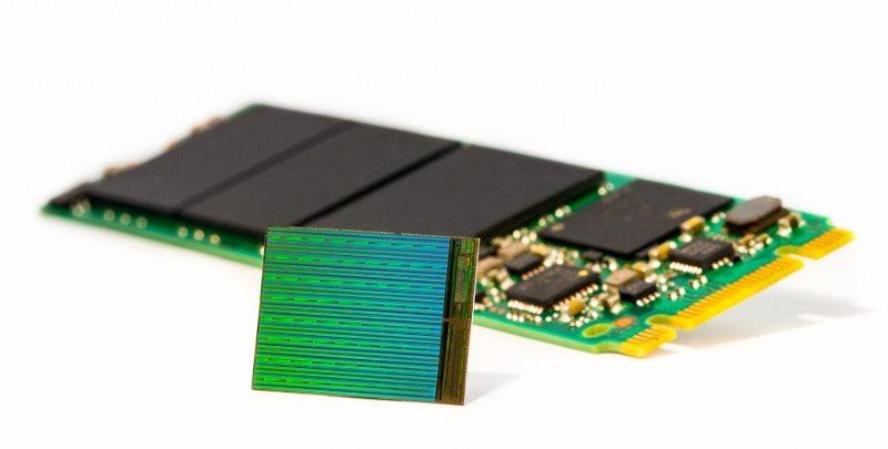 Memorie flash Intel Micron 3D NAND