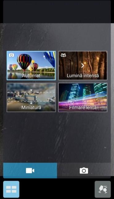 Moduri video pe ASUS Zenfone 2 ZE500CL
