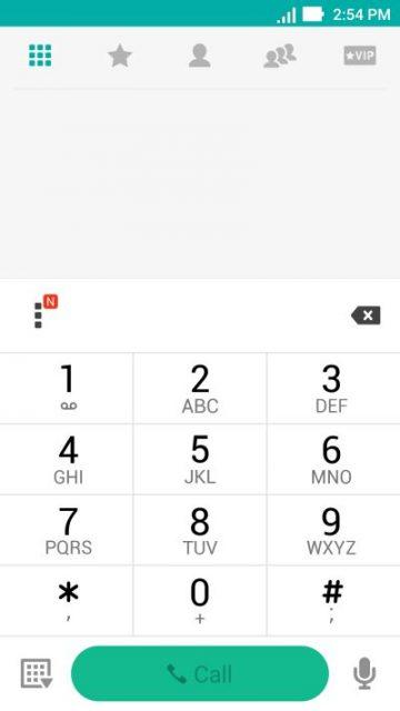 ASUS Zenfone 3 - interfață telefon