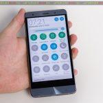 Panou setări rapide ASUS ZenFone 3 Deluxe (ZS570KL)