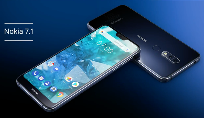 Nokia 7.1 cu Android One