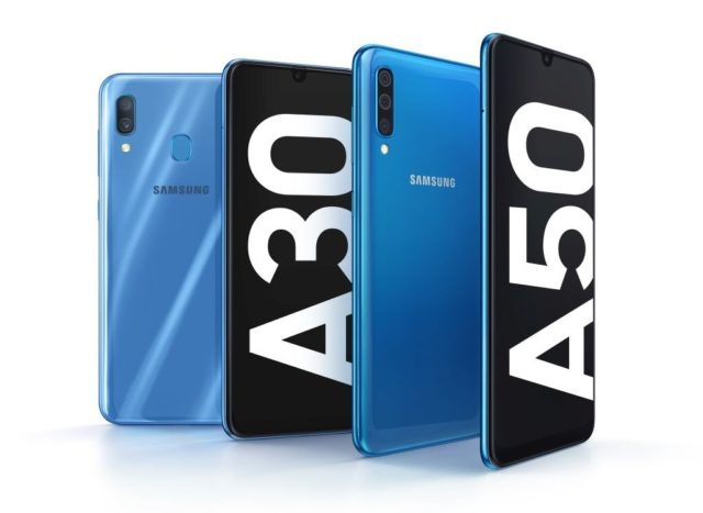 Samsung Galaxy A30 si A50