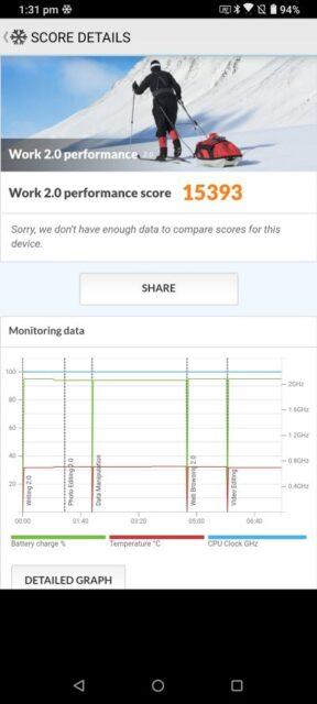 ASUS ZenFone 7 Pro în PC Mark