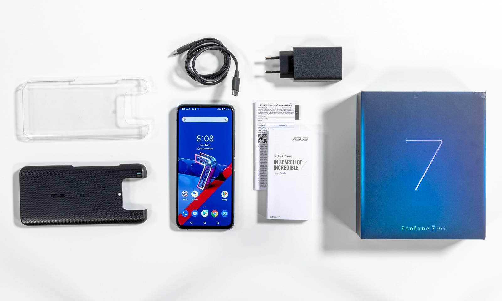Conținutul pachetului ZenFone 7 Pro