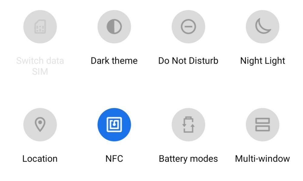Activare NFC pe telefonul Android